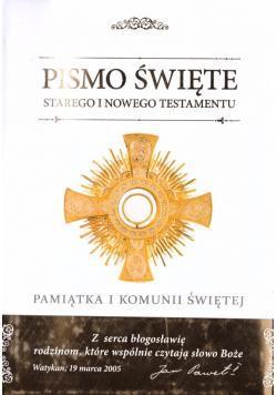 Biblia domowa 2020 Pamiątka I Komunii Świętej