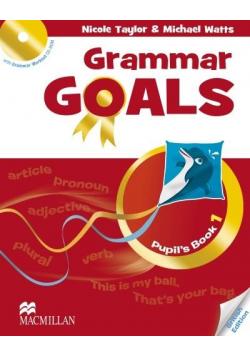 Grammar Goals 1 Książka ucznia + CD-Rom MACMILLAN