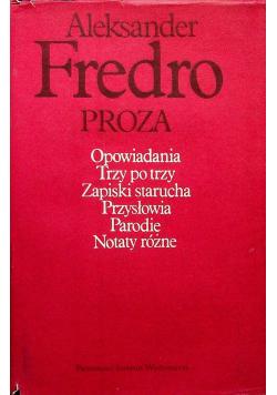 Fredro Proza