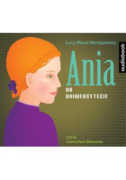Ania na Uniwersytecie audiobook