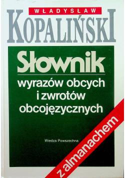 Słownik wyrazów i zwrotów obcojęzycznych