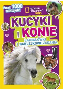 National Geographic Kid. Kucyki i konie
