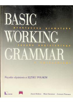 Basic Working Grammar Praktyczna gramatyka języka angielskiego z ćwiczeniami