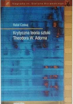 Krytyczna teoria sztuki Theodora W Adorna