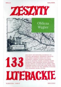 Zeszyty literackie 133 1/2016