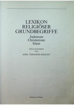 Lexikon Religioser Grundbegegriffe
