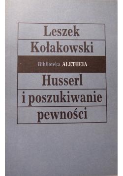 Husserl i poszukiwanie pewności
