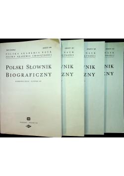 Polski Słownik Biograficzny Tom XXXIX 4 części