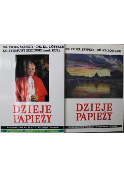 Dzieje Papieży II Tomy
