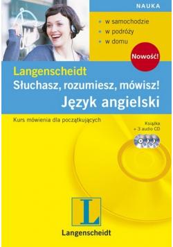 Słuchasz rozumiesz mówisz Język angielski plus 3  CD nowa