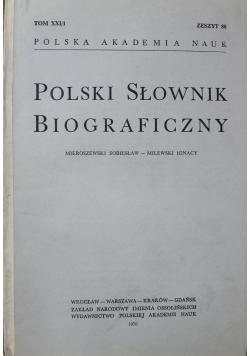 Polski Słownik Biograficzny Tom XXI 1 do 4 Zeszyt 88 do 91