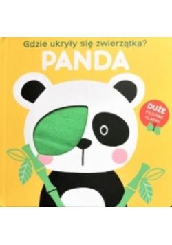 Gdzie ukryły się zwierzątka - Panda