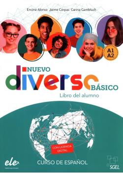 Diverso basico Nuevo A1+A2 podręcznik + zawartość online