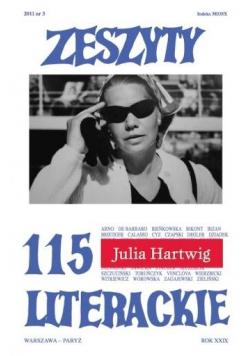 Zeszyty literackie 115 3/2011