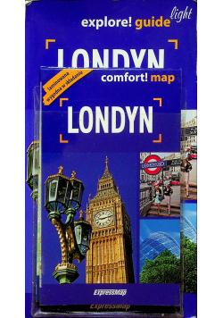 Londyn light przewodnik plus mapa