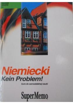 Niemiecki Kein Problem Kurs do samodzielnej nauki Poziom średni B1 + CD