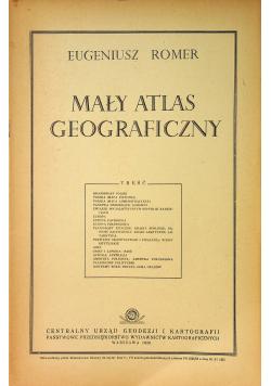 Mały atlas geograficzny