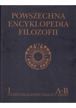 Powszechna encyklopedia filozofii Tom I