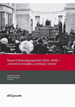 Senat II Rzeczypospolitej (1922-1939) - rzecznik..