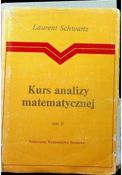 Kurs analizy matematycznej Tom II