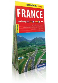 Premium!map Francja 1:1 050 000 mapa w.2019
