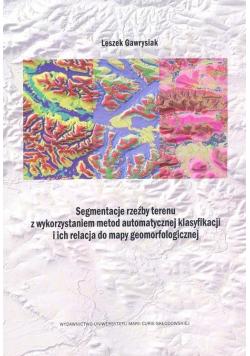 Segmentacja rzeźby terenu z wykorzystaniem metod..