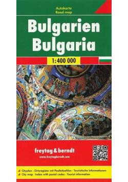Mapa samochodowa - Bułgaria 1:400 000