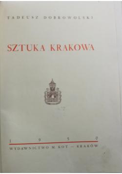 Sztuka Krakowa 1950 r