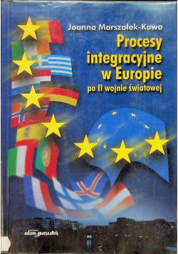 Procesy integracyjne w Europie po II wojnie światowej