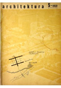Architektura 5 1959