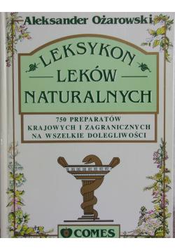 Leksykon leków naturalnych