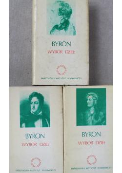 Byron wybór dzieł Tom 1 do 3