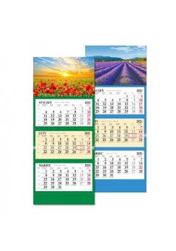 Kalendarz 2021 trójdzielny SB6 MIX SAPT