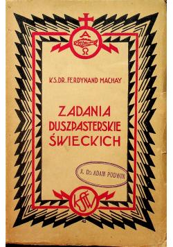 Zadania  duszpasterskie świeckich 1932 r.