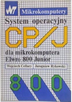 System operacyjny CP / J dla mikrokomputera Elwro 800 Junior