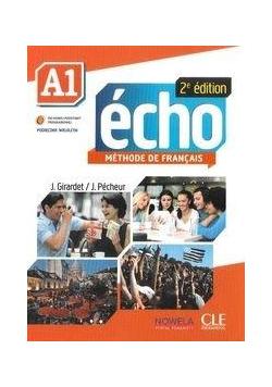 Echo A1. Podręcznik z płytą CD. Wersja wieloletnia