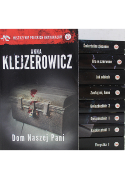 Mistrzynie polskich kryminałów 9 Tomów