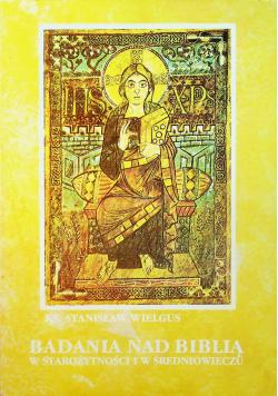 Badania nad Biblią w starożytności i w średniowieczu