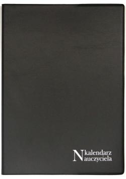 Kalendarz Nauczyciela A5 2020/2021 PCV czarny