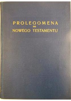 Prolegomena do Nowego Testamentu