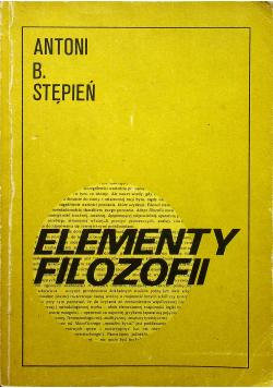 Elementy filozofii