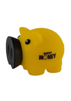 Skarbonka Świnka Happy Money żółta MAPED