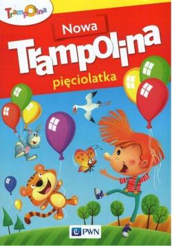 Ttrampolina Nowa Trampolina pięciolatka