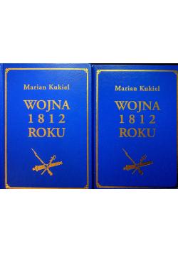 Wojna 1812 roku 2 tomy reprinty z 1937 r