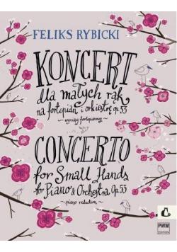 Koncert dla małych rąk op. 53 na fortepian i ork.