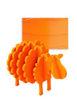 Filament PLA 1kg - pomarańczowy