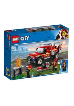 Lego CITY 60231 Terenówka komendantki Straży