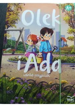 Olek i Ada wśród przyjaciół Poziom A+ NOWA