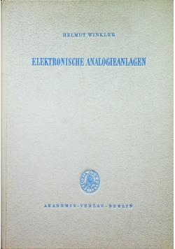 Elektronische analogieanlagen
