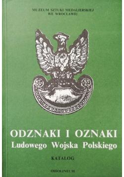 Odznaki i oznaki Ludowego Wojska Polskiego Katalog